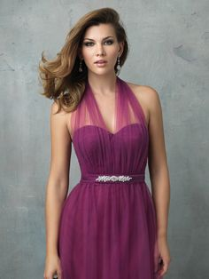 Allure Bridesmaid Dress 1431 one of our new convertible bridesmaid dresses, available in tulle & chiffon! Your style, your colour. The options are endless.