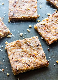 Super easy 3 Step Paleo Baklava Bars! Healthy vegan friendly paleo baklava bars that are packed full of sweet nutty flavor and healthy fats.