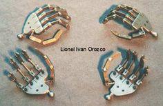 Hand armatures - by Lionel Ivan Orozco