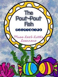 """""""The Pout-Pout Fish"""" Printables"""