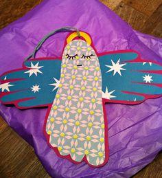 pralerier Retro Christmas, Christmas Crafts For Kids, Winter Christmas, Diy Crafts For Kids, Projects For Kids, Christmas Time, Christmas Decorations, Daycare Crafts, Toddler Crafts