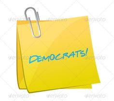 Realistic Graphic DOWNLOAD (.ai, .psd) :: http://vector-graphic.de/pinterest-itmid-1006637131i.html ... democrats post illustration design ...  background, concept, congress, copy, democrats, illustration, law, lawmakers, left, legislators, note, parties, pen, political, politics, republican, right, symbol, vote, wing, yellow  ... Realistic Photo Graphic Print Obejct Business Web Elements Illustration Design Templates ... DOWNLOAD :: http://vector-graphic.de/pinterest-itmid-1006637131i.html