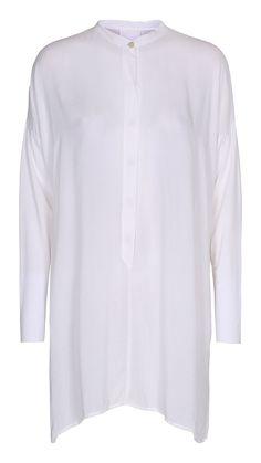 SHEENA tunika i hvid fra Project AJ117 | Shop Serafine.dk