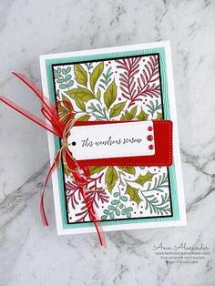 This Wondrous Season - Festive Foliage & Heartfelt Wishes | Bellestampin with Ann Alexander