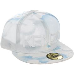 dc61a9d86c7 Pre-owned Kenzo x New Era Logo Fitted Cap ( 50) ❤ liked on Polyvore  featuring men s fashion