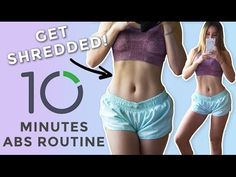 10 Mins Abs Workout - Best Abs Exercises for Ripped Obliques - YouTube