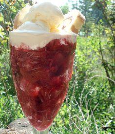 rhubarb trifle?