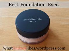 Hands down best foundation ever - bare minerals matte foundation