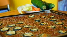 cuketova nadivka plech Beans, Vegetables, Vegetable Recipes, Beans Recipes, Veggies