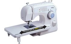 This Brother free arm sewing machine features decorative and heirloom stitches, each with multiple stitch functions. Push-button reverse stitching, an auto-size button hole maker and several other features highlight this sewing machine. Sewing Machines Best, Brother Sewing Machines, Sewing Machine Reviews, Machine Quilting, Machine Embroidery, Sewing Crafts, Sewing Projects, Sewing Ideas, Sewing Tips