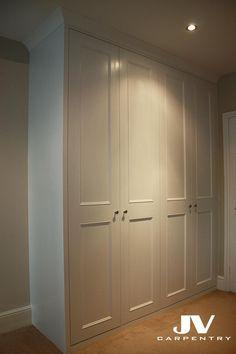 Four shaker with beading doors wardrobe