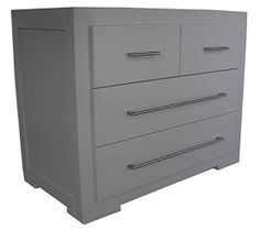 GRANT COMPACTUM - 4 Drawers with S/Steel Handles