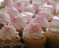Baby Shower Cupcakes by Creative Cake Designs (Christina), via Flickr