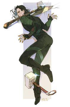 Loki by Manta