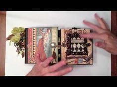 G45 Old Curiosity Shoppe Gatefold Mini Album video by Ginger Ropp #graphic45