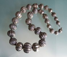 India silver beads