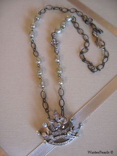 Holiday Sale  Fit for a Queen Rhinestone Crown by WinterPearls, $45.00