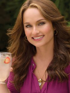 Giada De Laurentiis from FoodNetwork.com  I like her show Giada at Home. What recipes I've tried are really good and easy.