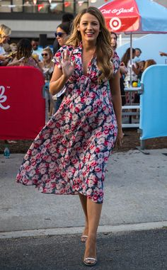 Blake Lively from The Big Picture: Today's Hot Pics  The beautiful mother looks cute and summery while at a Target event in Brooklyn.
