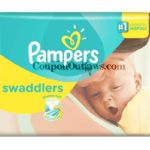 Pampers Swaddlers Walmart for $2.97 Jumbo Pack - http://www.couponoutlaws.com/pampers-swaddlers-walmart/
