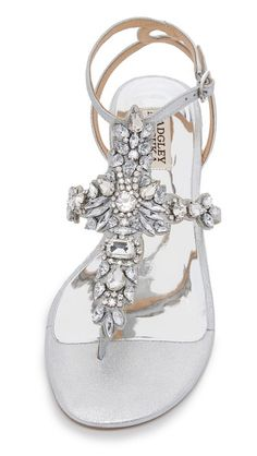 Badgley Mischka Cara II Flat Sandals