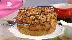"""La ricetta della torta alta di mele di Natalia Cattelani del 16 gennaio 2017, a """"La prova del cuoco"""". Un dolce leggero e genuino."""