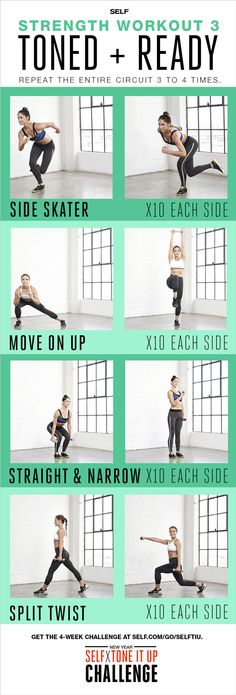 Total-Body Strength-Training Workout - Self x Tone It Up Challenge – Toned + Ready