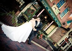 Downtown reception at the Irish Lion! Photo by Ahsley Athey Photography