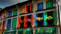 janelas coloridas - Pesquisa Google