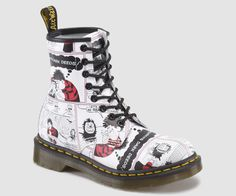 All over print Dr Martens boots featuring The Beano