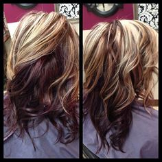 Love the color & curls by queen