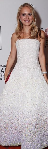 Natalie Portman: Dress and shoes - Christian Dior Jewelry - Van Cleef & Arpels watch - Richard Mille