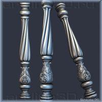 Балясина 041 3d Interior Design, 3d Design, Metal Handrails, Grill Design, Woodworking, Iron, Columns, Stove, Ss