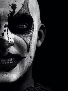 Creepy clown.