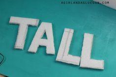 - A girl and a glue gun Flamingo Ornament, Glue Gun, Art Challenge, Stand Tall, Coastal, Guns, Symbols, Letters, Wall Art