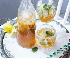Homemade Iced Tea, Lemonade Cocktail, Home Canning, Tea Recipes, Tostadas, Summer Drinks, Mojito, Fresh Fruit, Punch Bowls