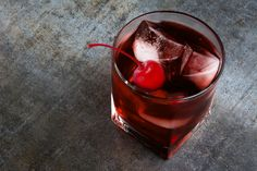 Think you don't like bourbon? Add a little sweetness with maple and a ruby port to embody the flavors of a crisp fall night.  Second Circle: : 2 oz Wild Turkey Bourbon,  1 oz ruby port,  1 tsp maple syrup,  1 maraschino cherry - Combine first three ingredients in a shaker filled with ice. Shake and strain into rocks glass filled with fresh ice. Garnish with maraschino cherry. Irish Whiskey, Bourbon Whiskey, Wild Turkey Bourbon, White Oak Barrels, Fall Cocktails, Maple Syrup, Moscow Mule Mugs, Shake, Crisp