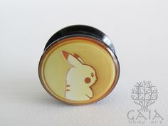 Alargador Pokecoin Pikachu, de 6mm a 22mm