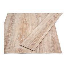 IKEA - GOLV, Laminaatvloer, Gelamineerd oppervlak; een slijtvaste vloer voor alle ruimtes in huis, uitgezonderd vochtige.Verbleekt niet in het zonlicht; de vloer kan ook worden gelegd in een kamer met veel zon.Kan in alle ruimtes in huis worden gelegd, met uitzondering van vochtige.Te gebruiken met een NIVÅ ondervloer.