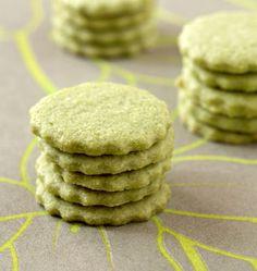 Sablés au thé vert matcha - Recettes de cuisine Ôdélices