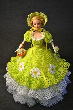 вязаное платье для куклы - Поиск в Google