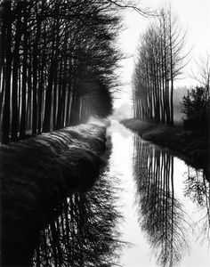 Holland Canal, 1971 (by: Brett Weston)