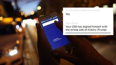 17 of the best reasons people gave for deleting Uber Image:  Adam Berry/Getty Images  By Brian Koerber2017-01-30 16:43:09 UTC  Uber is riding straight into PR hell.  The ride-sharing company is currently enduring the full wrath of the internet after infuriating customers following its reaction to a Muslim travel ban issued by President Donald Trump.  On Saturday thousands of people showed up at John F. Kennedy Airport in New York City to protest the presidents order. The NY Taxi Workers…