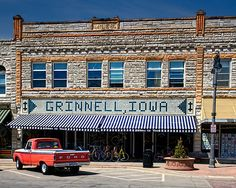 Grinnell, Iowa  Thats awesome Grinnell is on Pinterest!