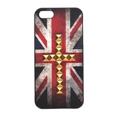 Studded British Flag iPhone 5 Case