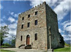 Castelo de Castrodouro en Alfoz (Lugo)
