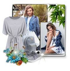 """""""Shein"""" by erina-salkic ❤ liked on Polyvore featuring Kerr®"""