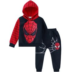 LZH Children Clothing 2017 Autumn Winter Boys Clothes Spiderman Hoodies+Pants Outfit Christmas Costume Kids Boys Sport Suit - Kid Shop Global - Kids & Baby Shop Online - baby & kids clothing, toys for baby & kid Outfits Niños, Batman Outfits, Newborn Outfits, Baby Boy Outfits, Kids Outfits, Baby Boy Clothing Sets, Boys And Girls Clothes, Toddler Boy Outfits, Children Clothing