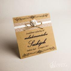 """Svadobné etikety """"Romantic"""" Ponúkame Vám originálne ručne zdobené etikety podľa Vašich prianí. Place Cards, Place Card Holders, Vintage, Vintage Comics"""