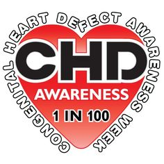 February is Congenital Heart Defect Awareness month. 1 in 100 babies will be born with a heart defect! CHDs kill twice as many children each year than all childhood cancers combined.